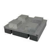 China Aluminum extrusions cnc machined heat sink KF799 on sale