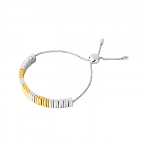 China WOMEN True Friendship Sterling Silver & 18kt Yellow Gold Vermeil Bracelet on sale