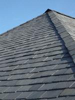 China Stone Black slate roof tile on sale