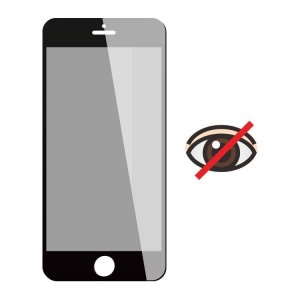 China Full screen privacy silk print screen protector on sale