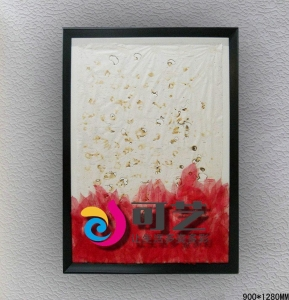 China Keyi-kind handmade painting - Red on sale