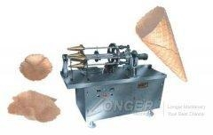 China Ice Cream Cone Rolling Machine on sale