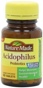 China Nature Made Acidophilus Probiotics, 60 Count on sale
