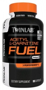 China Twinlab Acetyl L-Carnitine Fuel Capsules, 90 Count on sale