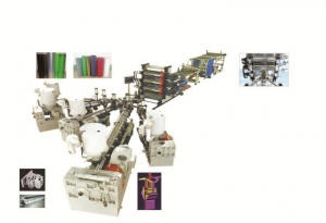 China PE PP ABS PS PMMA ASA HIPS Mono Or Multi Layer Sheet Production Line on sale