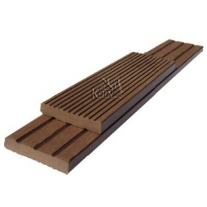 China WPC FLOOR DECKING SOLID BOARD 50H10 on sale