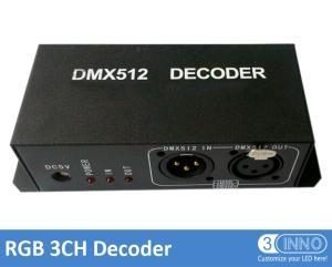 China LED Dot Lighting DMX To PWM Converter RGB 3 CH on sale