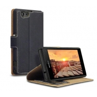 PU Slim Leather Case for Sony Xperia Z1 Compact