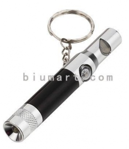 China Keychain Light With Whistle & Compass on sale