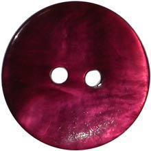 China Pink Burgundy Shell 2-hole 5/8 on sale