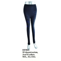 Wholesale Lot 12 Pairs Women Lady Girl Leggings Pants Jeans Assorted Colors HF083