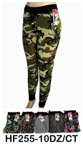 China NYC Wholesale Active Sports Mix Prints Leggings Pants HF255 on sale