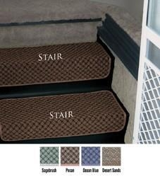 China Step Huggers for Stair Steps 23.5 inchW Pecan on sale