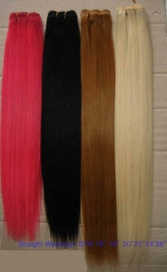 China human hair extensions weft HHW-015 on sale