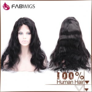 China 100% Human Hair Virgin Brazilian Hair Lace Front Wig on sale