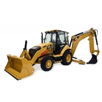 Articulated Trucks 416F Backhoe Loader