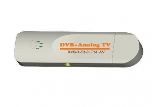 China VCAN1090 USB Digital DVB-T2 DVB-T TV Analog TV DVB-C FM DAB TV stick PC use on sale