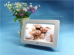 China VCAN1319 Acrylic Frame Material 10 inch digital photo frame Video Playback MP3 Function on sale