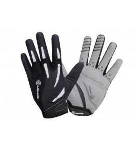 China 4ucycling Lambda all Seasons Silicone Gel Padded Palm Super Breathable Full Fingers Gloves on sale