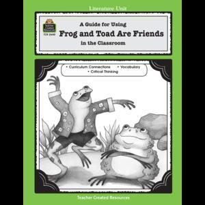 China A Guide for Using Frog and Toad Are Friends in the Classroom on sale