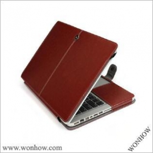 China PU leather case for macbook air 11 on sale