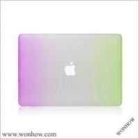 China Rainbow color plastic case for macbook pro 13 on sale