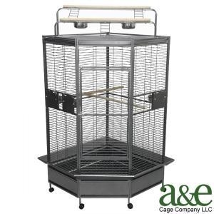 China Deluxe Corner Playtop Cage on sale