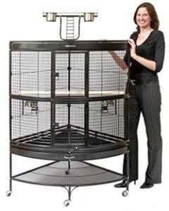 China Prevue Extra Large Corner Cage on sale