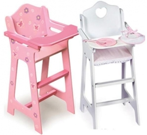 China Blossoms & Butterflies doll high chair TXLR-0065 on sale