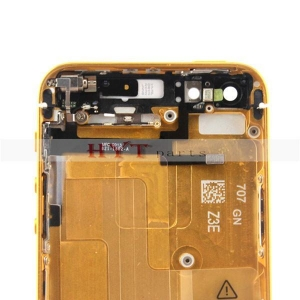 China Preassembled Back Housing Replacement Parts for iPhone 5 Gold on sale