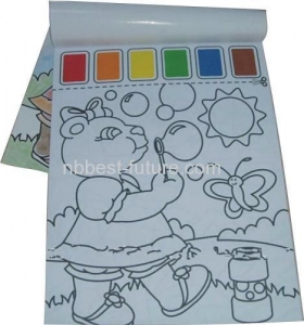 China MC1504 Paint with water coloring book on sale