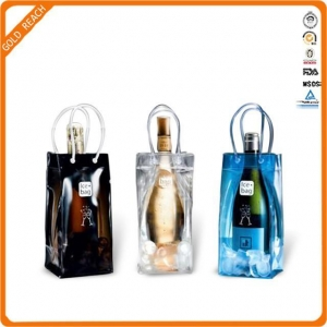 China PVC Ice Bag For Champagne/Cooler Bag For Wine on sale