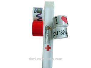 China Promotional Pvc Slap Reflective Bracelet on sale
