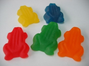 China Frog Gummy Candy on sale