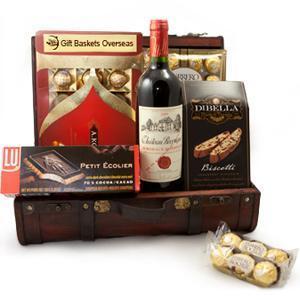 China Wine And Chocolate Journey.NO.38 Beijing gift basket on sale
