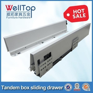 China Soft close drawer slides/drawer channel/drawer runner on sale