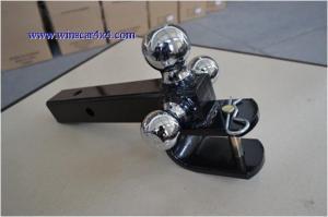 China U3014 Triple Ball Mount With U Hook All Chromed on sale