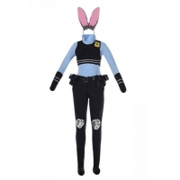 China Womens Funny Judy Hopps Halloween Costume Black on sale