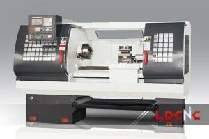 China CK6142 light dutyCNC lathe machine, Swing diameter over carriage 230mm on sale