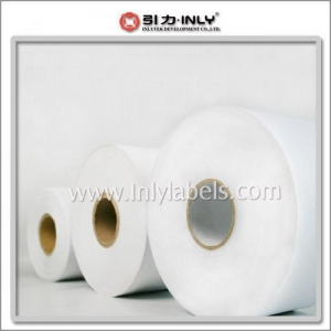China Self-adhesive label materals in jumbo rolls on sale