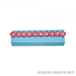 China Flower Silicone bead mold SB-006 on sale