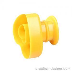 China Heart shaped plastic doughnut cutter PBC-07 on sale