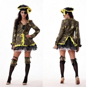China 2016 Newest Design Adult Jake The Neverland Japanese Sexy Cosplay Pirate Costume For Women on sale