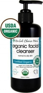 China Herbal Choice Mari Organic Facial Cleanser Normal & Oily 200ml/ 6.8oz on sale