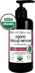 China Herbal Choice Mari Organic Makeup Remover 200ml/ 6.8oz Pump on sale