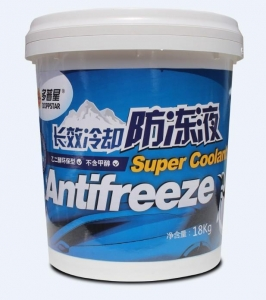 China SUPER COOLANT ANTIFREEZE Ice point :-25℃ on sale
