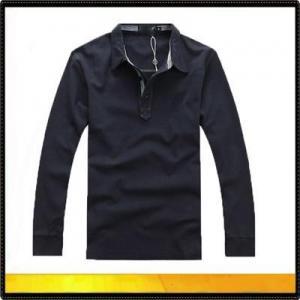 China Polo shirts long sleeve polo shirt for men on sale