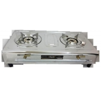 China Biogas Double Burner SS Pan Support on sale