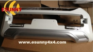 China hilux vigo 2012 front bumper guard with LED EY2006# on sale