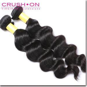 China Indian Virgin Hair Loose Wave 2 Pcs/Lot on sale